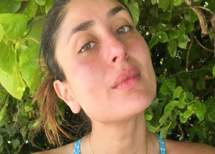 करीना कपूर खान ने बीच से Sans Makeup थ्रोबैक की फोटो शेयर